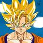 SSJ2 Goku by Zodarius
