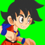 Son Goku Fighting Pose: ANIM by RetroSleep