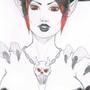 2nd day of Chain, Black Queen by LeylaArirama