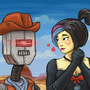The old wild west by IsidorSwande