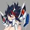 Topless Evil Ryuko