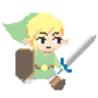 Toon Link walkcycle by 3DRod