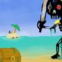 Captain Red Eye Skeleton by MagniusGaia