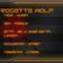 Rosette Wolf Application by Morbidity