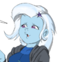 Trixie learned a new trick