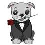 Valentine Pug by PencilxCase