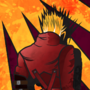 Art Nouveau Vash the Stampede by Grim-gate