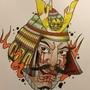 Samurai warrior by woody13886