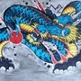 Japanese dragon by woody13886