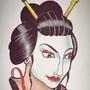 Geisha girl by woody13886