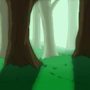 Forest -Game Background by Ivoryviking
