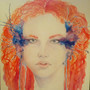 Redhead by TheRabidWerewolf