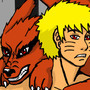 Kurama and Naruto by Porn4Grim