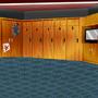 locker room background