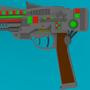 70's sci-fi pistol by Alan1149