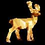 Low Poly Deer by DeetsArt