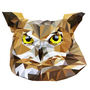 Low Poly Owl by DeetsArt