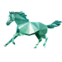 Low Poly Horse by DeetsArt