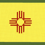 new mexico state flag by venom96