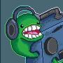 Boombox Tortoise by ArcadeHero
