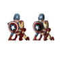 Iron Man and Captain America by Adelitas