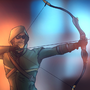 Green Arrow by VicTycoon