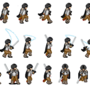 Swordsman Sprite Sheet 2 by FireMinstrel