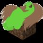 Minecraft Pony Icon by Wolfeirne