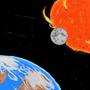 Solar Eclipse by jonadrew