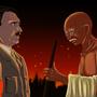 Gandhi & Hitler by KingSid1412