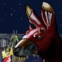 Devil Kangaroo by Haskye