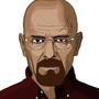 Walter White aka Heisenberg by Adelitas