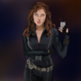 Black widow selfie by LegendaryDom