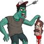 Swamp Chris Guy by Alienslushie