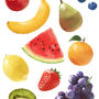 Fruits - Custom Brushes by mlillustration
