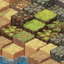 Isometric Tile Set by Katatafisch
