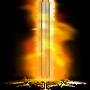 Firey Pixel Sword by Splurda