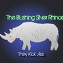 BLUSHING SILVER RHINOS by SeaBoundRhino