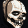 Number0 Skull with Nose Mask by Letal