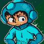 Megaman Pixelart by MysticPandah