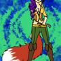 anthro fox oc by GunRaider