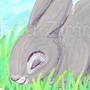 Sun Bunny by ArtByMaranda