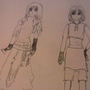 Two Females Design by jflo777