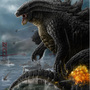 Godzilla in Alcattraz by DarkmaKaijuArts
