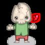 Cute Skelly by Destructiod