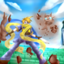Golden Sun Isaac by Kayllum