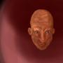 creepy bold guy by Aberjack