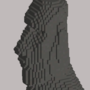 Easter Island Head by VaguelyWonderful