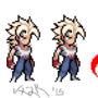Super Saiyan | A DBZ Pixel Art by Vxzr