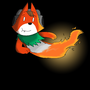 Fox Flamin by foxplayin